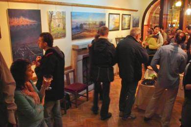 vernisáž jež se konala 10.1.2012 v městské galerii města Pelhřimova