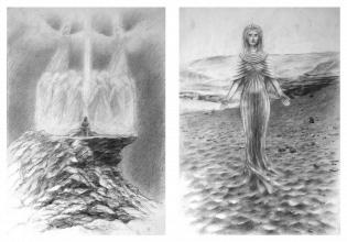 Ilustrace ke knize <strong>       Pravda mezi nebem a zemí </strong>čekající na dotisk knihy