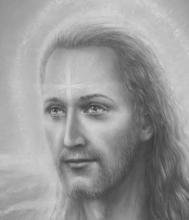 <strong>Křest Ježíše detail</strong>