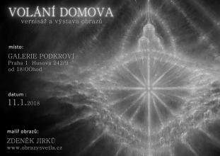 vernisáž 11.1.2018. v Praze .